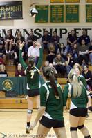 5615 Varsity Volleyball v Casc-Chr 101011