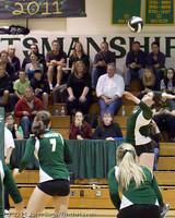 5617 Varsity Volleyball v Casc-Chr 101011
