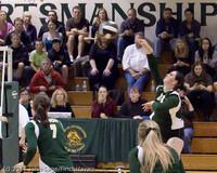 5618 Varsity Volleyball v Casc-Chr 101011