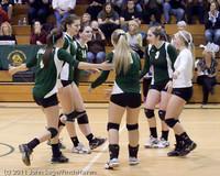 5623 Varsity Volleyball v Casc-Chr 101011