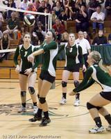 5651 Varsity Volleyball v Casc-Chr 101011