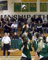 5655 Varsity Volleyball v Casc-Chr 101011