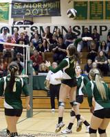 5658 Varsity Volleyball v Casc-Chr 101011