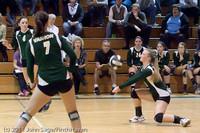 5663 Varsity Volleyball v Casc-Chr 101011