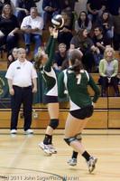 5665 Varsity Volleyball v Casc-Chr 101011