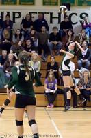 5668 Varsity Volleyball v Casc-Chr 101011