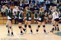 5694 Varsity Volleyball v Casc-Chr 101011