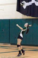 5695 Varsity Volleyball v Casc-Chr 101011