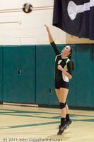 5697 Varsity Volleyball v Casc-Chr 101011