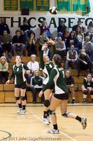 5704 Varsity Volleyball v Casc-Chr 101011