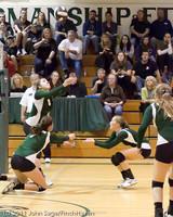 5713 Varsity Volleyball v Casc-Chr 101011