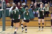 5715 Varsity Volleyball v Casc-Chr 101011
