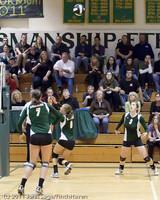 5717 Varsity Volleyball v Casc-Chr 101011