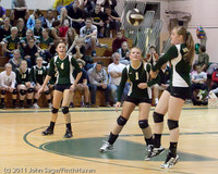 5728 Varsity Volleyball v Casc-Chr 101011