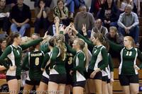 5736 Varsity Volleyball v Casc-Chr 101011