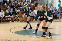 5745 Varsity Volleyball v Casc-Chr 101011