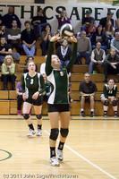 5747 Varsity Volleyball v Casc-Chr 101011