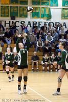 5748 Varsity Volleyball v Casc-Chr 101011