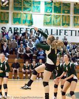 5751 Varsity Volleyball v Casc-Chr 101011