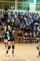 5761 Varsity Volleyball v Casc-Chr 101011