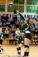 5765 Varsity Volleyball v Casc-Chr 101011