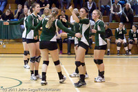 5789 Varsity Volleyball v Casc-Chr 101011