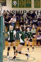 5796 Varsity Volleyball v Casc-Chr 101011