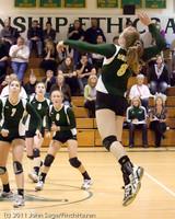 5799 Varsity Volleyball v Casc-Chr 101011