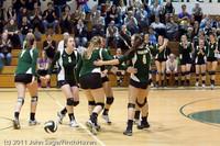 5806 Varsity Volleyball v Casc-Chr 101011