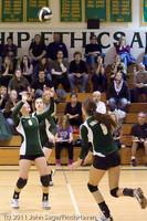 5820 Varsity Volleyball v Casc-Chr 101011