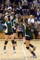 5821 Varsity Volleyball v Casc-Chr 101011
