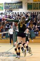5825 Varsity Volleyball v Casc-Chr 101011