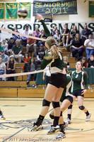5827 Varsity Volleyball v Casc-Chr 101011