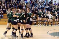 5837 Varsity Volleyball v Casc-Chr 101011