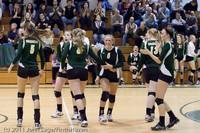 5840 Varsity Volleyball v Casc-Chr 101011