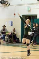 5843 Varsity Volleyball v Casc-Chr 101011