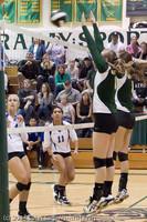 5847 Varsity Volleyball v Casc-Chr 101011