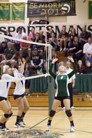 5851 Varsity Volleyball v Casc-Chr 101011