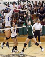 5853 Varsity Volleyball v Casc-Chr 101011