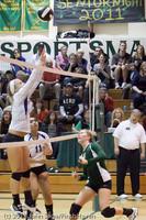5855 Varsity Volleyball v Casc-Chr 101011