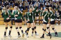 5863 Varsity Volleyball v Casc-Chr 101011