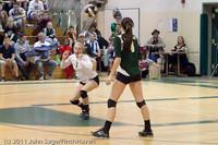5873 Varsity Volleyball v Casc-Chr 101011