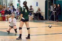 5875 Varsity Volleyball v Casc-Chr 101011