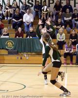 5886 Varsity Volleyball v Casc-Chr 101011