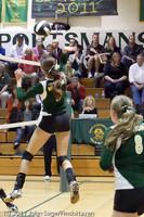 5890 Varsity Volleyball v Casc-Chr 101011