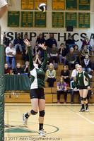 5908 Varsity Volleyball v Casc-Chr 101011