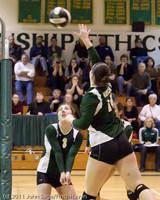 5912 Varsity Volleyball v Casc-Chr 101011