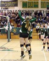 5939 Varsity Volleyball v Casc-Chr 101011