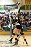 5941 Varsity Volleyball v Casc-Chr 101011
