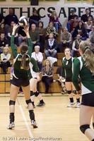 5951 Varsity Volleyball v Casc-Chr 101011